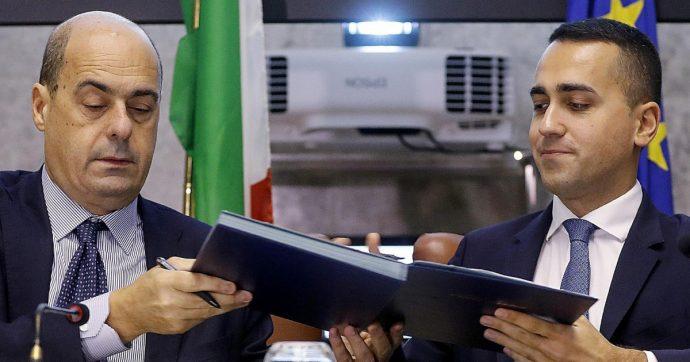 In Edicola sul Fatto Quotidiano del 26 Agosto: Cresce il pressing su Zinga per il premier (anche dal G-7 e da Landini)