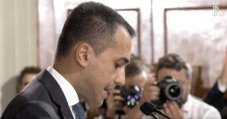 """Crisi, Di Maio al Quirinale: """"Lega ha proposto me come presidente del Consiglio, ho rifiutato"""""""