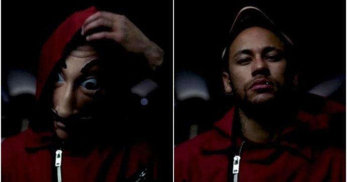 """Neymar nel cast de """"La Casa di Carta"""": """"Ora posso realizzare il mio sogno"""""""