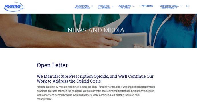 Dipendenza da oppioidi, dopo la multa a Johnson&Johnson la Purdue Pharma negozia un accordo da 12 miliardi negli Usa