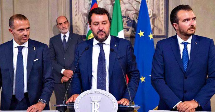 """Salvini: """"Speriamo governo non nasca"""". Il leghista attacca solo il Pd e spera nel voto su Rousseau - VIDEO"""