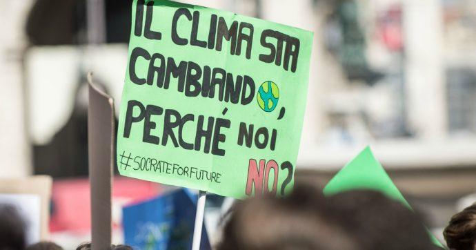 L'emergenza climatica è anche in Italia. Ecco quattro punti da attuare subito