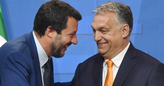 """Ungheria, Orban scrive a Salvini: """"Sei un guerriero nella lotta contro l'immigrazione"""""""