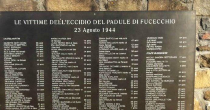 """Eccidio Padule di Fucecchio, i familiari non vogliono i soldi tedeschi per il monumento: """"Germania non ha reso esecutive le condanne"""""""