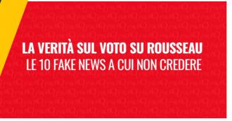 """M5s: """"Dagli hackeraggi al voto manipolato fino al vero ruolo della Casaleggio Associati. Ecco dieci fake news su Rousseau"""""""