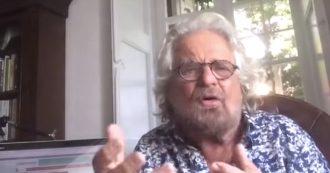 """Governo, Grillo ai suoi: """"Basta parlare di posti e punti, sono esausto"""". E poi ai dem: """"Questa è un'occasione unica"""". Il discorso integrale"""