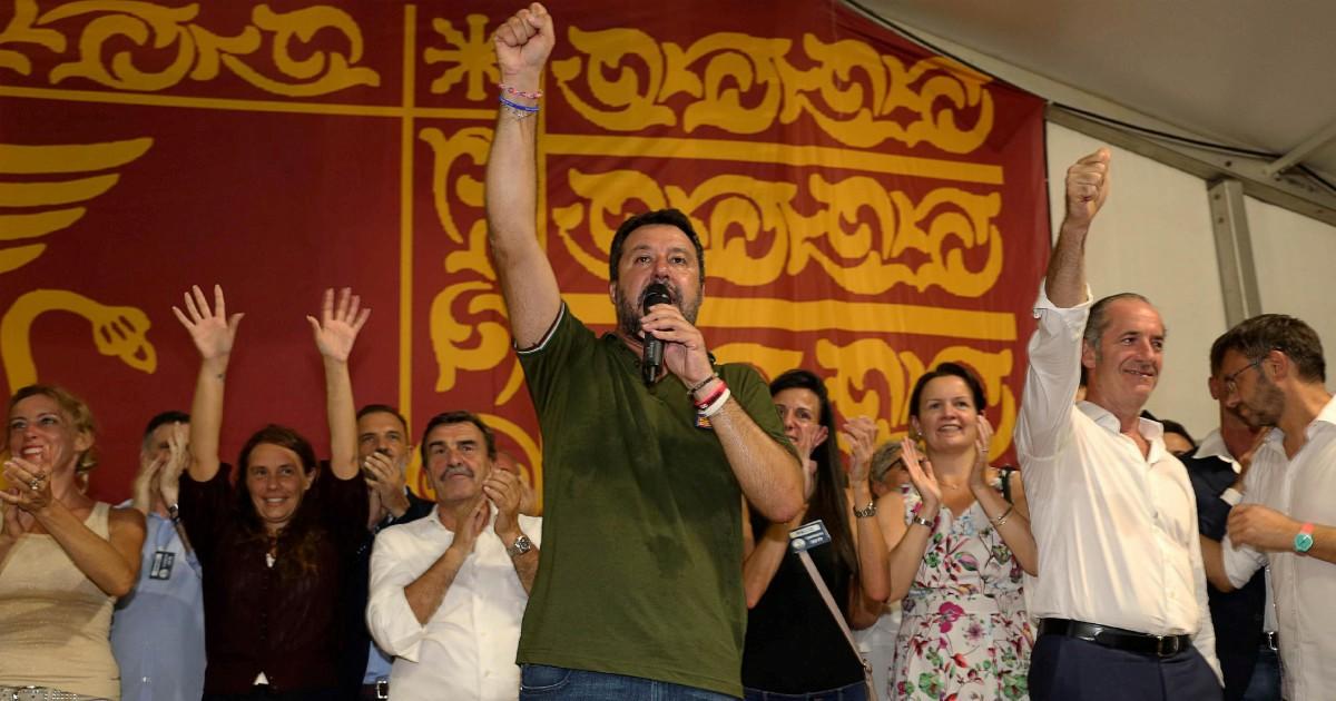 """Centrodestra, Salvini chiude a Forza Italia. E Zaia: """"Ora la rivoluzione"""""""