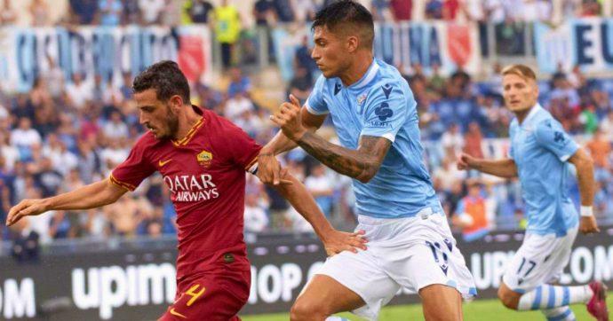 Lazio-Roma 1-1, Luis Alberto risponde a Kolarov. Pali, traverse, gol annullati: emozioni e occasioni ma il derby non ha padrone