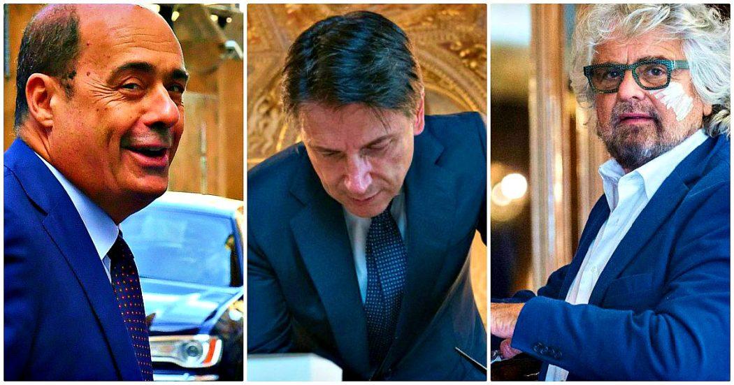 """Governo, la diretta – Franceschini dà ragione a Grillo e propone: """"Eliminiamo entrambi i posti da vicepremier"""". Tutto il Pd con lui, compreso Zingaretti: """"Contributo per sbloccare la situazione"""""""