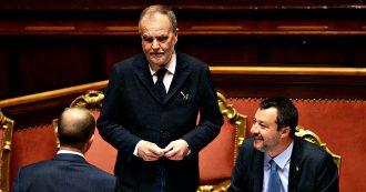 """Governo, Calderoli: """"Lo sotterrerò sotto milionate di emendamenti. Controlliamo le commissioni, lo metteremo in difficoltà"""""""