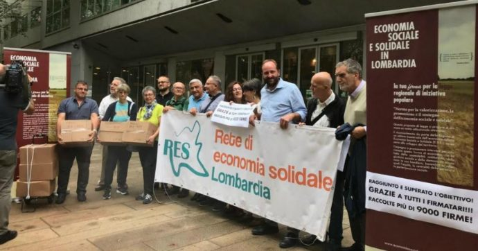 Economia solidale e sociale, in Lombardia proposta di legge per sostenerla: raccolte 9mila firme