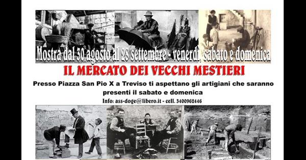 Treviso, al mercato degli antichi mestieri c'è pure 'l'arte del casino'. Con apposite figuranti vestite da prostitute