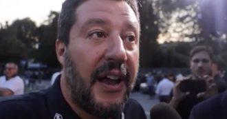 """Governo, Salvini alla festa della Lega attacca Conte e difende Di Maio. Poi tende la mano al M5s: """"Nostre porte sempre più aperte"""""""