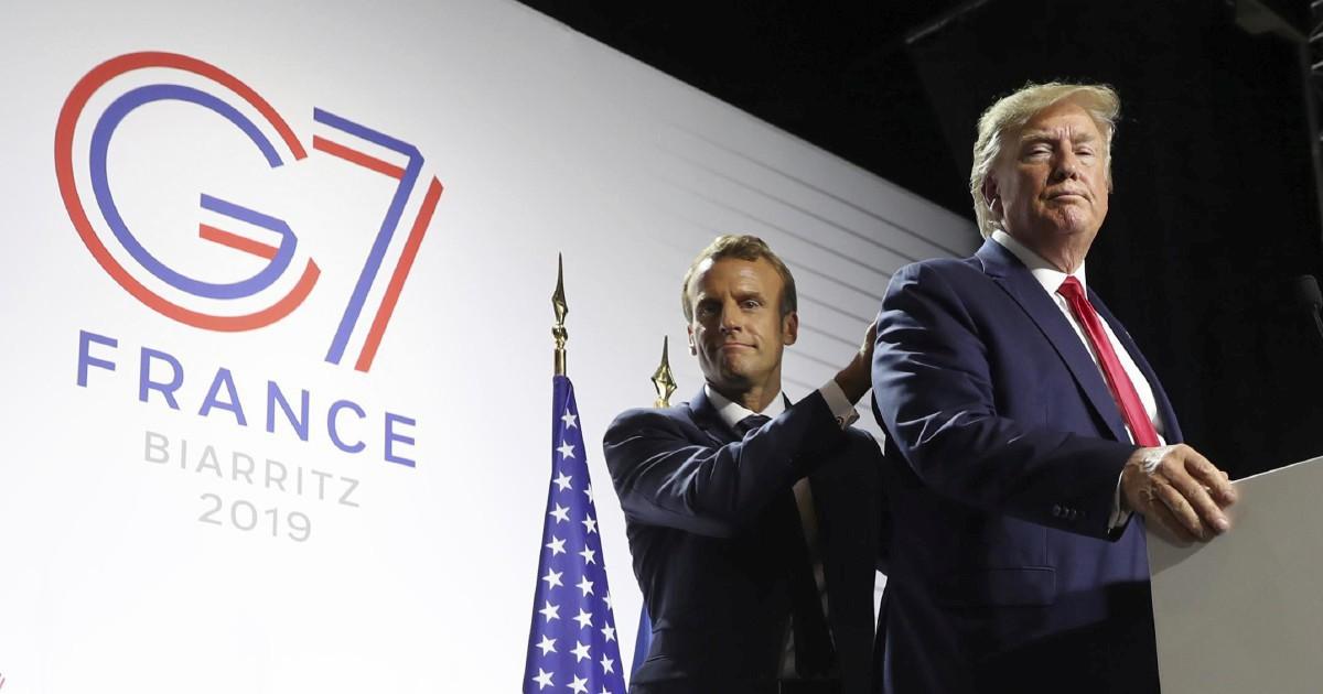 G7, per Macron un flop travestito da successo