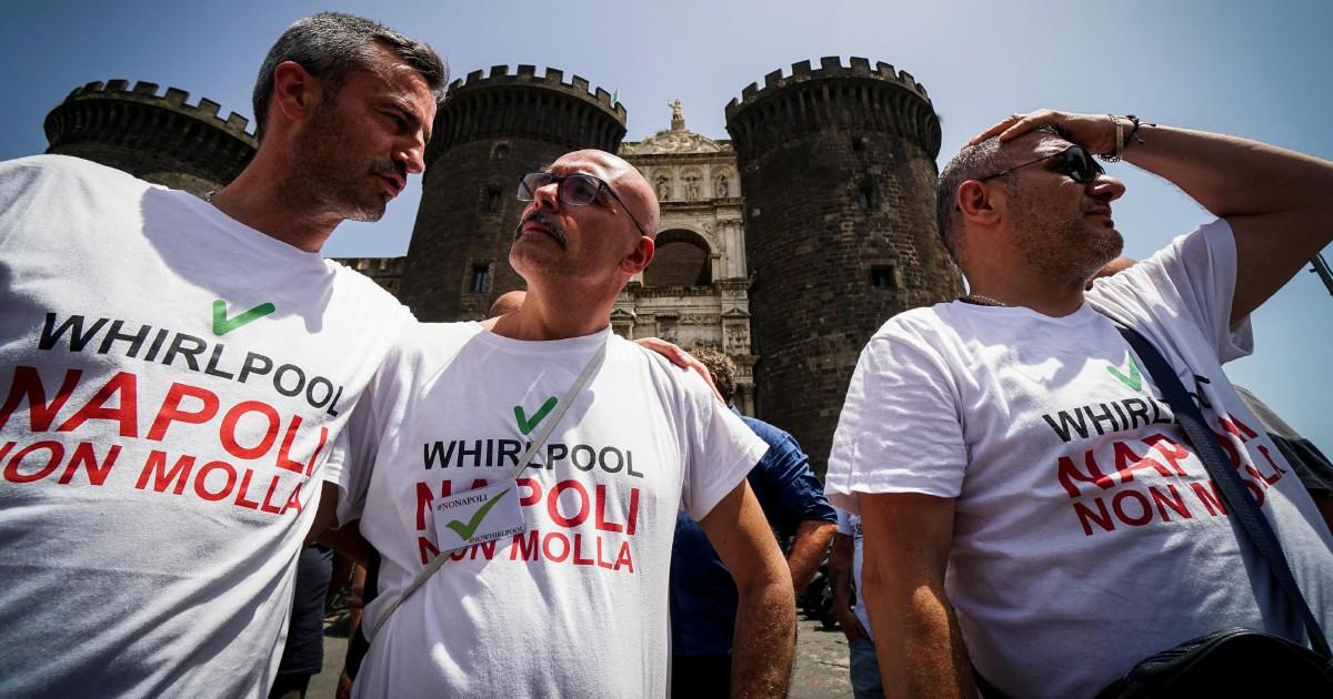 Ora Whirlpool rinnega l'accordo con Di Maio
