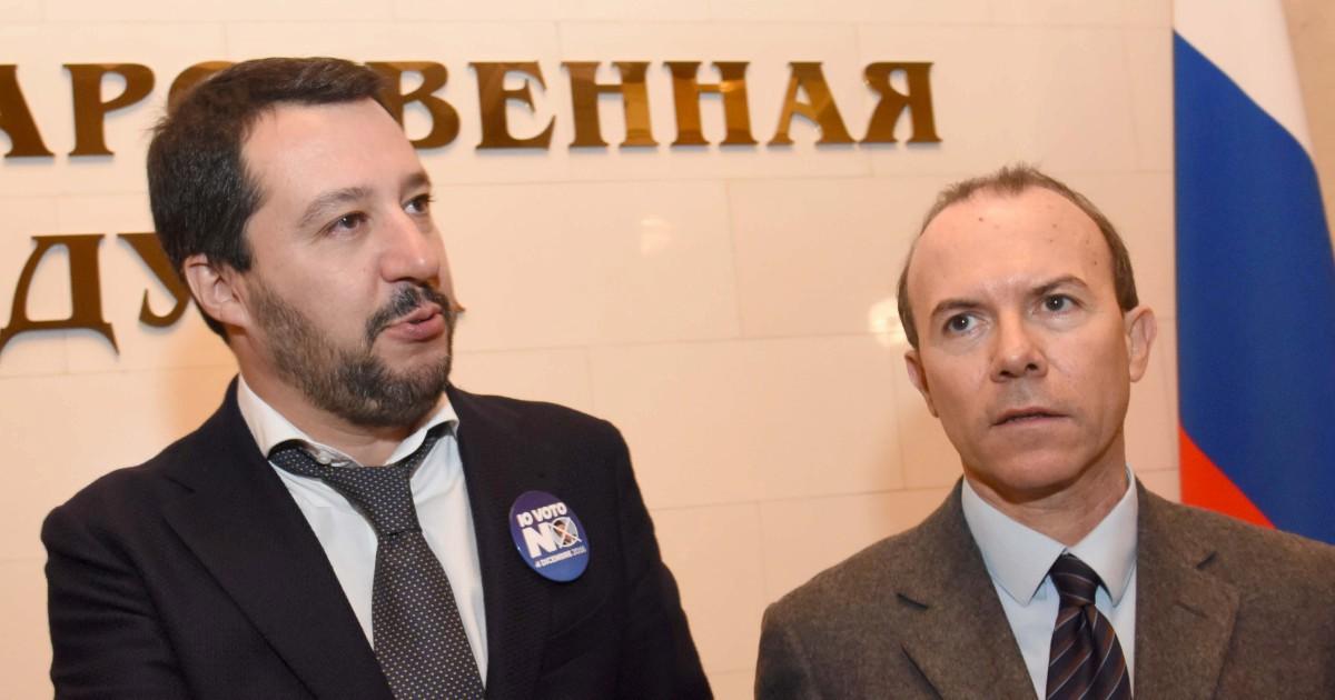 """""""Salvini al tavolo con Descalzi e l'uomo chiave del Russiagate"""""""