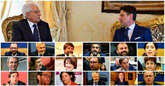 La lista completa dei ministri del Conte 2
