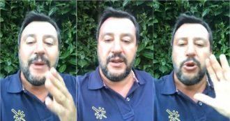 """Conte 2, Salvini: """"Lega fuori dal mercato delle vacche. M5s? Più casta della casta"""""""