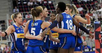Europei volley femminile, l'Italia batte la Russia 3-1 ai quarti e vola in semifinale contro la Serbia. E torna l'incubo dei mondiali 2018