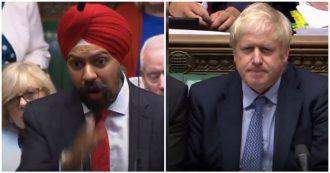 """L'ira del deputato sikh col turbante contro Johnson: """"Quando si scuserà per frasi razziste?"""""""
