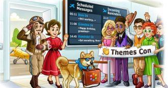 Telegram aggiorna la programmazione di messaggi, promemoria e temi cloud personalizzati
