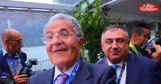 """Governo Pd-M5s, Prodi: """"Finalmente un esecutivo che avrà rapporti seri con l'Europa. Spero che avremo un peso superiore"""""""
