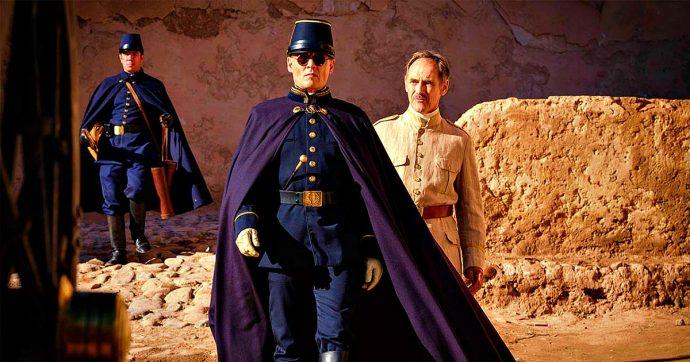 Mostra del Cinema di Venezia, Waiting for the barbarians: come annullare due attori come Johnny Depp e Mark Rylance (già premio Oscar)