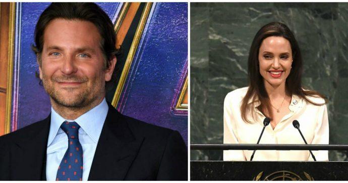 """""""Bradley Cooper non sta più con Lady Gaga ma con Angelina Jolie"""": l'indiscrezione"""
