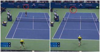 US Open, il pallonetto di Berrettini scavalca Nadal ma il colpo dello spagnolo è da applausi