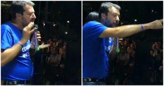 """Governo, Salvini furioso col giornalista Rai: """"Vergognati, schifoso che non sei altro"""""""