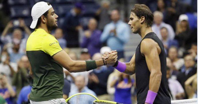 """Us Open, Matteo Berrettini si ferma in semifinale contro Rafael Nadal. Ma lo spagnolo lo mette tra i grandi: """"Già uno dei migliori"""""""