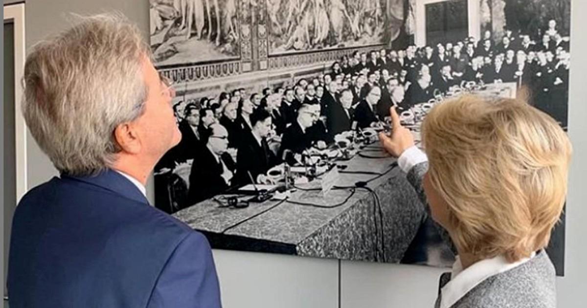 """Gentiloni in Europa: trattative incrociate per il """"conte"""" Dem"""
