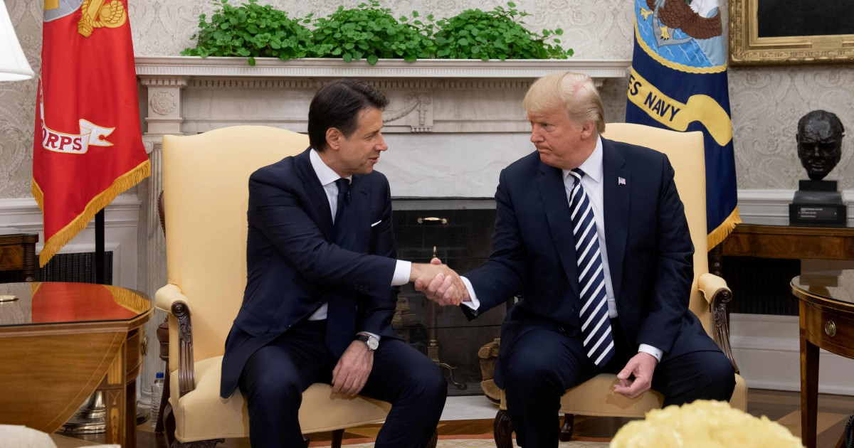 Russia e Cina, gli americani vogliono garanzie dal Conte II
