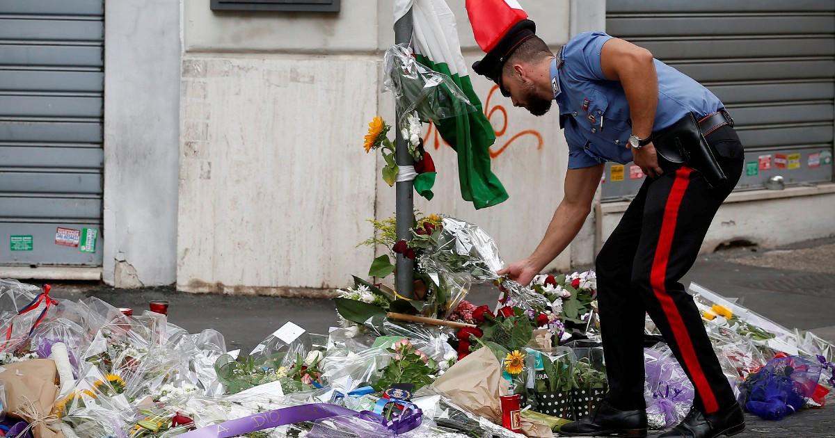 Il carabiniere non sparò: anche lui era disarmato