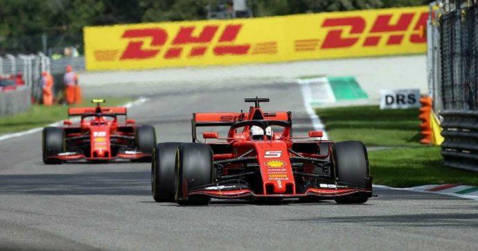 F1 Gp Monza, Leclerc vince il testa a testa con Bottas (secondo). Terzo Hamilton, Vettel solo 13esimo dopo incidente