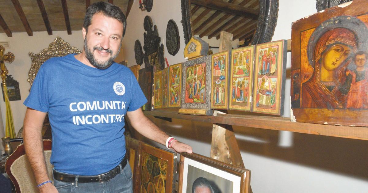 """Il popolo umbro di Salvini """"È impulsivo, ma tornerà"""""""