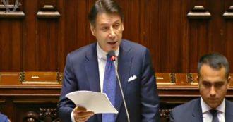 Governo, dagli applausi alle contestazioni al richiamo alla lealtà a Pd e M5s: il discorso integrale di Giuseppe Conte alla Camera
