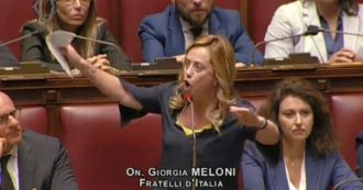 """Governo, Meloni: """"Avete truffato gli italiani, Di Maio può allacciare le scarpe a Scilipoti"""""""