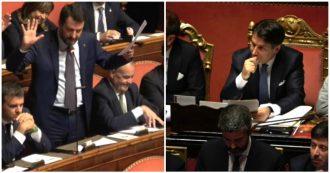 """Da 'Conte-Monti' all""""uomo che sussurrava a Merkel': tutti gli attacchi di Salvini al presidente del Consiglio"""