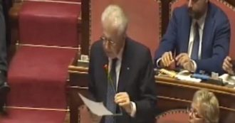 """Governo, Monti: """"Voterò la fiducia, su Europa e economia sono stupefatto. Visione simile a quella che ho sempre sostenuto"""""""