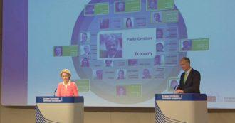 Commissione Europea, Von der Leyen nomina Gentiloni agli Affari economici dell'Ue