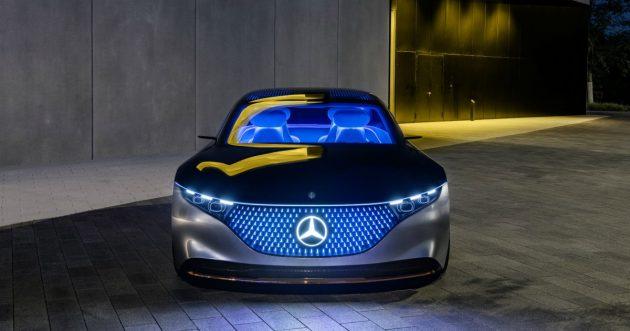 Mercedes Vision EQS, l'ammiraglia elettrica con le stellette – FOTO