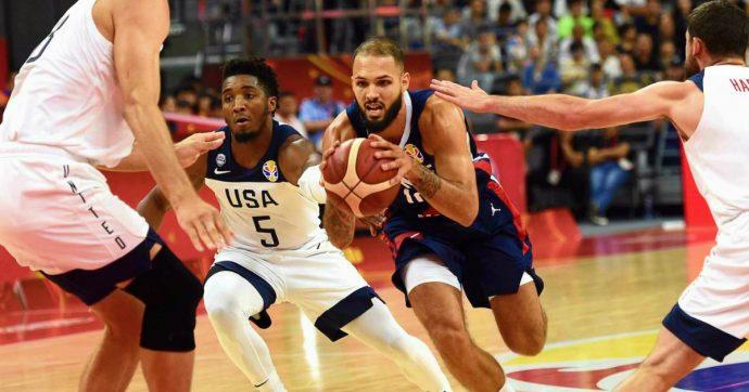 Mondiali di basket, la Francia elimina gli Usa di coach Popovich e conquista la semifinale. Gobert e Fournier firmano il colpaccio