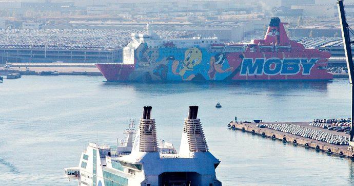 Moby cede 2 traghetti alla Dfds in cambio di 2 navi più vecchie di 20 anni e 70 milioni. Erano garanzia per debito di 180 milioni con lo Stato