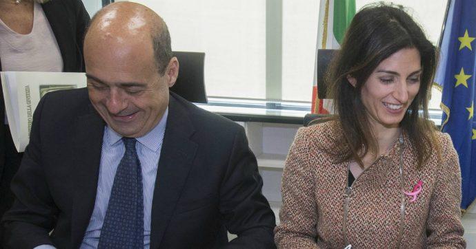 Roma, il M5s prepara la ricandidatura della Raggi: il percorso a ostacoli tra opposizione interna e le mosse del segretario Pd Zingaretti