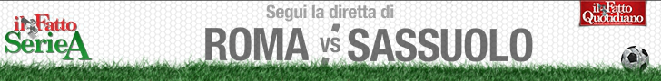 ROMA-SASSUOLO