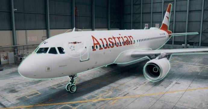 Austrian Airlines impiega i droni per ispezionare gli aerei: bastano 2 ore per scoprire anche il danno più piccolo