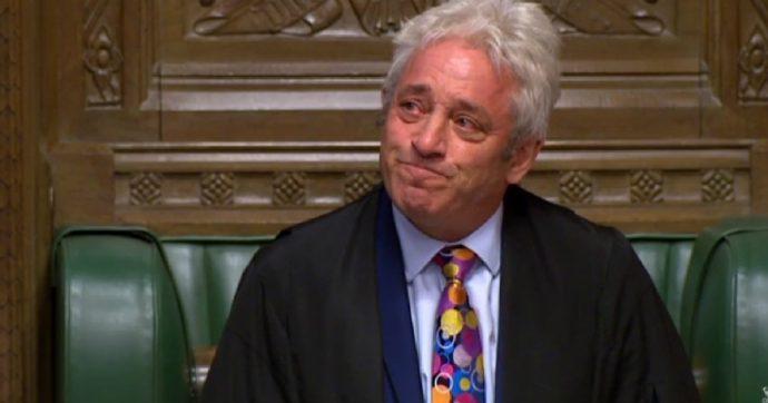 """Brexit, Bercow: """"La Camera dei Comuni non voterà l'intesa"""". Altro stop per il governo Tory. Johnson: """"Nega rispetto per volontà popolare"""""""