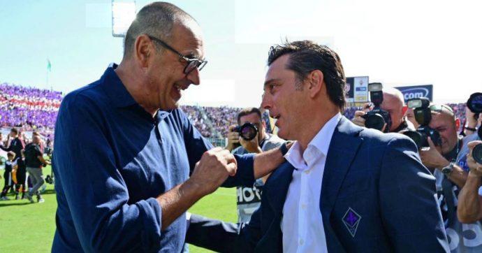 Fiorentina-Juventus 0-0: per i bianconeri di Sarri un pareggio alla Allegri. Molto bene la Viola tutta grinta di Vincenzo Montella