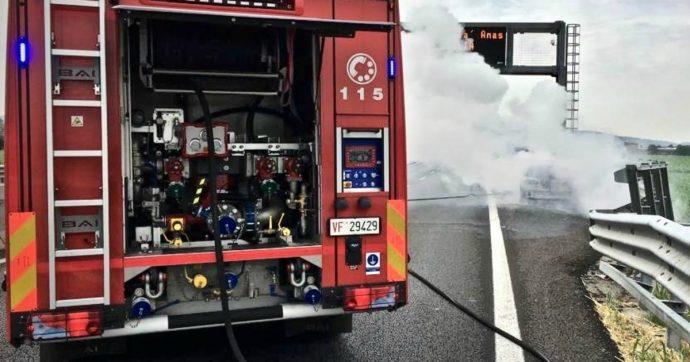 Autostrada Torino-Pinerolo, incendio dopo incidente: morti padre e figlia di 6 anni